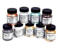 art supplies  pearl-ex metallic pigments