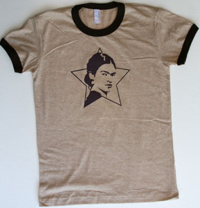 cotton t-shirt with Frida Kahlo print