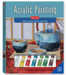 acrylic painting instraction book