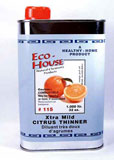 art supplies extra mild citrus thinner