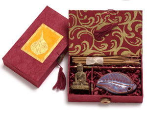 incense box little bodhi tibet, fair trade gift