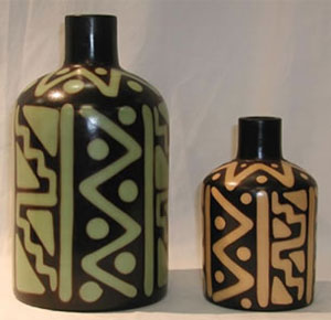 fairtrade pottery and vases