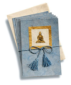 note cards  fairtrade made in tibet