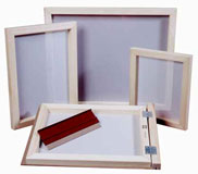 art supply screepn printing frame by speedball