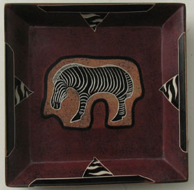 soapstone plate  fairtrade made in kenya