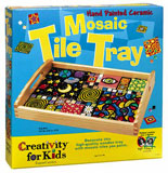 activity kit, mosaic tile tray