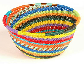 zulu wire baskets made fair trade in africa